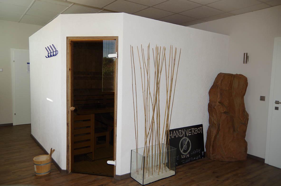 Wellnessbereich in unserem Studio